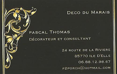 Carte de Visite Pscal Thomas